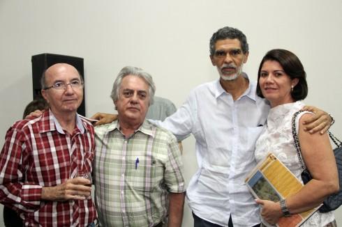 JBBrito, Sérgio de Castro Pinto, Mirabeau Dias e Suely