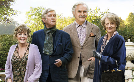 Pauline Collins, Tom Courtenay, Billy Connoly e Maggie Smith: o quarteto.