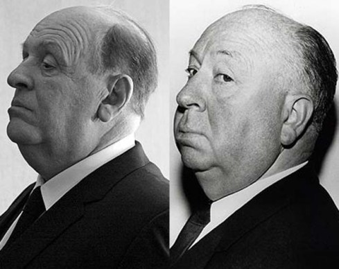 Anthony Hopkins e Alfred Hitchcock