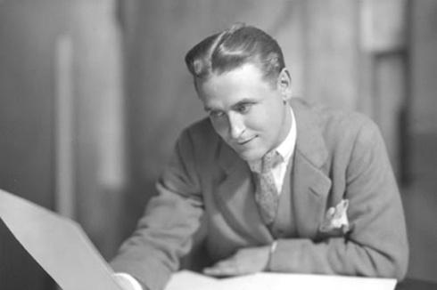 """Scott Fitzgerald, autor de """"O grande Gatsby"""" (1926), romance que retomava um certo tema do Século XIX"""