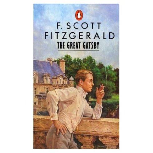Uma das capas mais conhecidas do romance de Fitzgerald