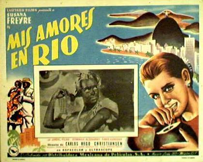 Cartaz argentino do filme de Christensen