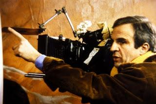 Truffaut rodando A Noite Americana