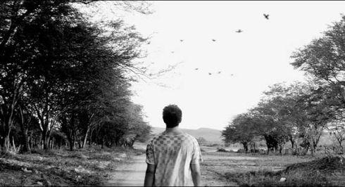 A paisagem rural é o segundo cenário do filme