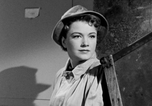 A bela Anne Baxter (Eve) em grande desempenho
