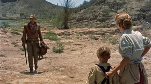 O forasteiro que chega no rancho