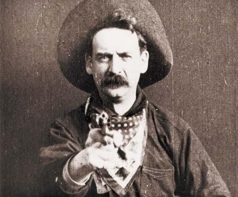 """O tiro no espectador de """"O grande assalto de trem"""" (1903) foi o primeiro sintoma de violência"""
