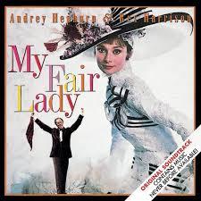 """""""Minha bela dama"""": Audrey Hepburn em um dos musicais do ano."""