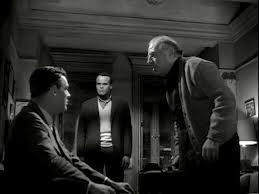 """Harry Belafonte, Robert Ryan e Ed Begley em """"Odds againts tomorrow"""" (""""Homens em fúria', 1959)"""