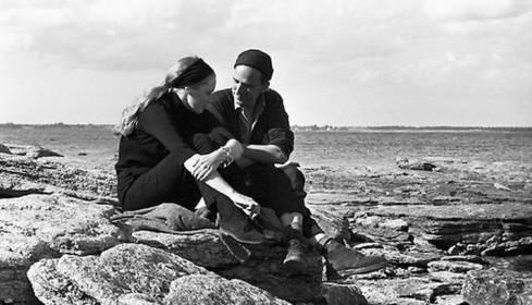 """""""Liv & Ingmar: uma das belas cenas de arquivo"""