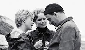 Um trio famoso: Bibi, Liv e Ingmar