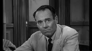 "Henry Fonda, ator e co-produtor de ""Twelve angry men"""
