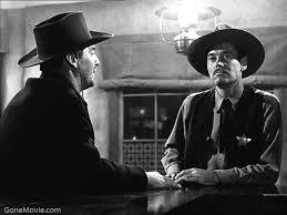 """O xerife Wyatt Earp e dentista Doc Holiday em """"Paixão dos fortes"""" (1946)"""