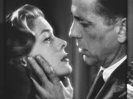 """Com Humphrey Bogart, em """"Prisioneiro do passado"""""""