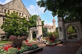 Universidade de Indiana: portal de entrada
