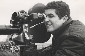 """O jovem Lelouch nas filmagens de """"Um homem, uma mulher"""""""