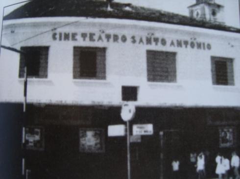 O Cine Teatro Sto Antônio, no bairro de Jaguaribe, João Pessoa.