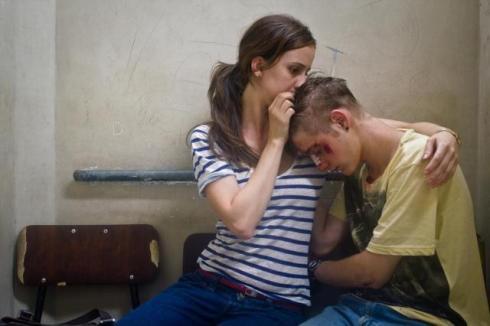 """Cena dramática em """"De menor"""" (2013)."""