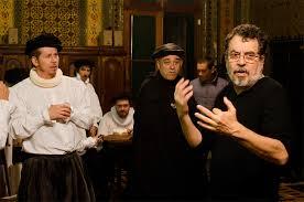 O cineasta gaúcho Jorge Furtado filmando.