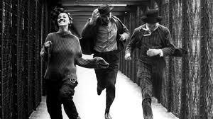 """Cena emblemática do mais prestigiado filme de Truffaut: """"Jules et Jim"""""""
