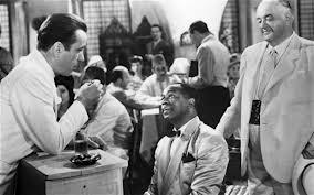 """""""Casablanca"""" é um dos filmes preferidos do entrevistado."""