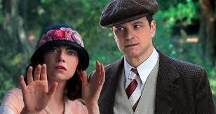 """Emma Stone e Colin Firth são os amantes relutantes de """"Magia ao luar""""."""