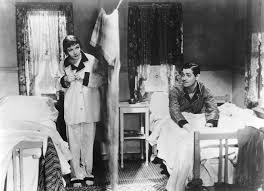 """Amantes relutantes, em """"Acconteceu naquela noite, 1934."""