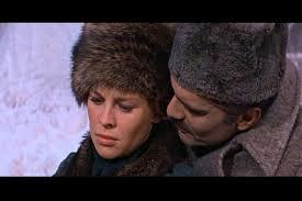 """Omar Sharif e Julie Christie em """"Dr Jivago""""."""
