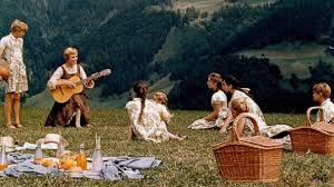 """Música nas montanhas em """"A noviça rebelde""""."""