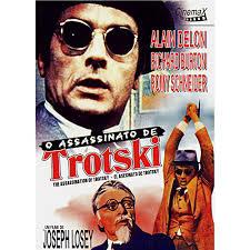 """Cartaz de """"O assassinato de Trotzki"""", com Richard Burton e Alain Delon"""