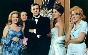 """""""Thunderball"""" - James Bond e suas mulheres."""