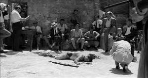 """Cena chave de """"O Bandido Giuliano""""."""