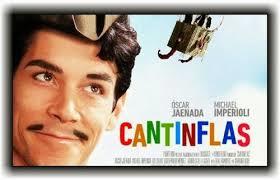 Cartaz do filme, onde se vê o ator Oscar Jaeneda