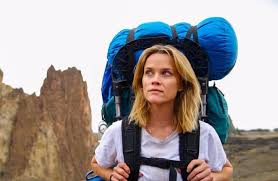 Reese Witherspoon no papel de Cheryl Strayed.