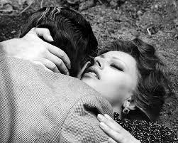 Sophia Loren e Marcelo Mastroiani, 1964.