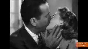 Ingrid Bergman e Humphrey Bogart, 1942.