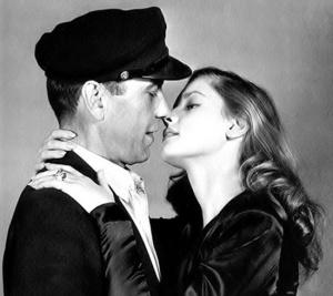 Lauren Bacall e Humphrey Bogart, 1944.
