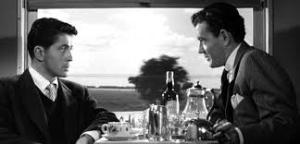 "De volta a Hitchcock: cena de ""Pacto sinistro""."