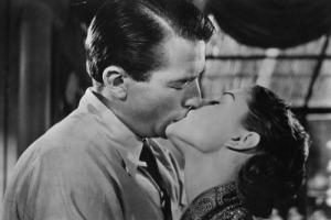 Audrey Hepburn e Gregory Peck, 1953.