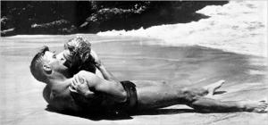 Deborah Kerr e Burt Lancaster, 1953.