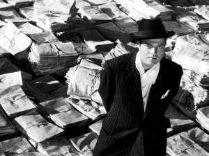 Orson Welles é Kane