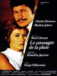"""Cartaz de """"O passageiro da chuva"""" (1970)."""