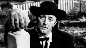 O tenebroso Robert Mitchum em The night of the hunter
