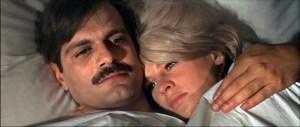 """Omar Sharif e Julie Christie em """"Doutor Jivago"""""""