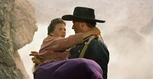Um dos poucos westerns da lista completa está entre os dez mais: Rastros de Ódio.