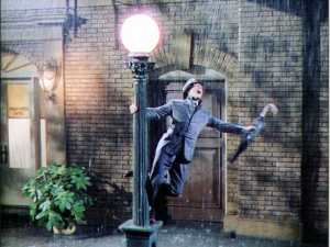 Cantando na chuva é um dos dez mais.