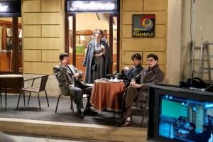 Jovens intelectuais na Roma dos anos 50