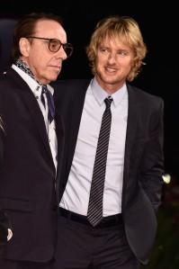 Peter Bogdanovich e o ator Owen Wilson