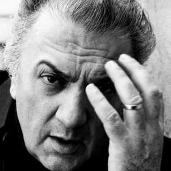 O mestre Fellini.