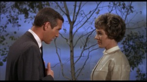 "Paul Newman e Julie Andrews em ""Cortina rasgada"""